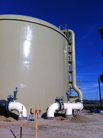 Tanks & Reservoirs - P&I Consulting Engineers